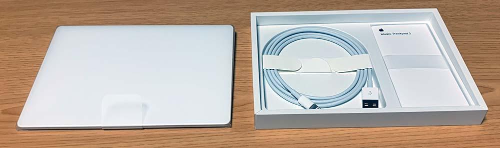 Magic Trackpad 2の同梱一覧
