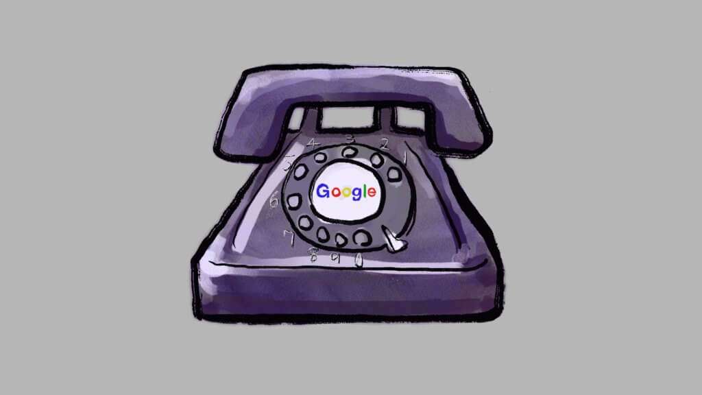 googleのアカウント確認で、固定電話の場合の対処