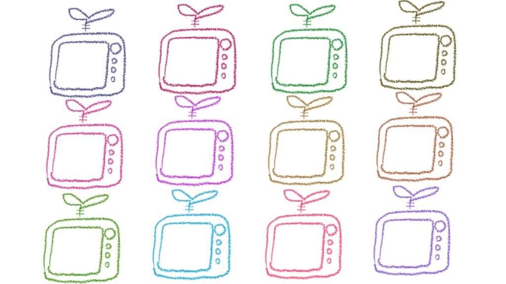 テレビが12個欲しい